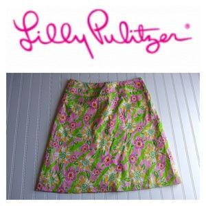 Lilly Pulitzer Alligator Skirt